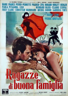 Les Saintes-Nitouches - Poster Italie