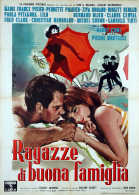 The Zany Innocents - Poster Italie