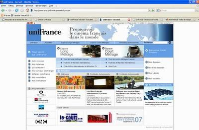 Nueva web de Unifrance - Nouvel Unifrance.org