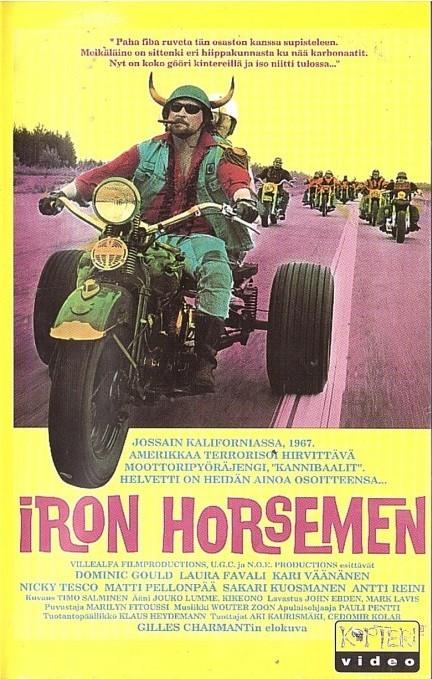 Iron Horsemen - Finland - VHS