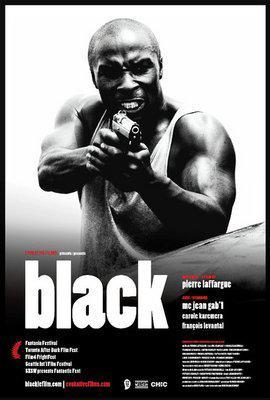 Black - Poster - Canada - © Evokative Films