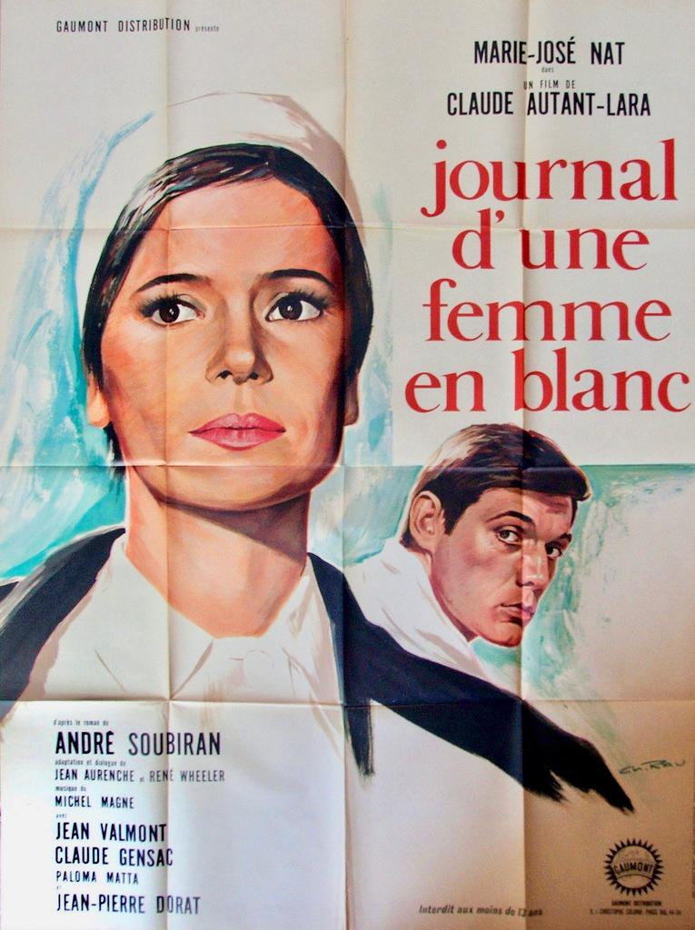 A Woman in White - Poster France