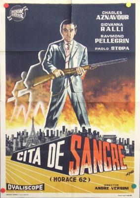 Cita de sangre - Poster Espagne