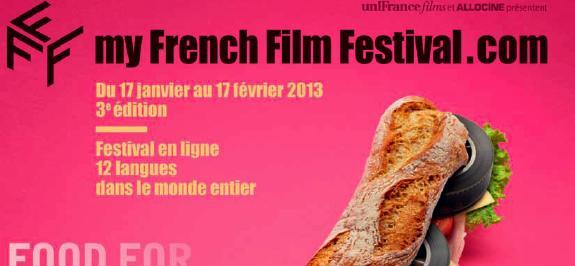 Unifrance films lance la 3ème édition de MyFrenchFilmFestival.com