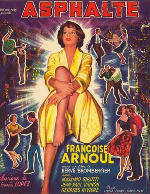 Asphalte - Poster Belgique