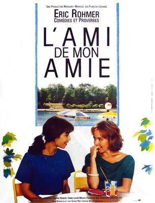L'Ami de mon amie - Poster France