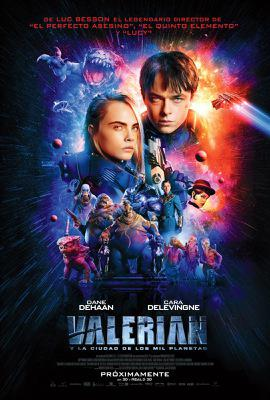 Valerian and the City of a Thousand Planets - Poster -Argentina
