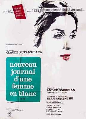 Une femme en blanc se révolte (Nouveau journal d'une femme en blanc) - Poster France