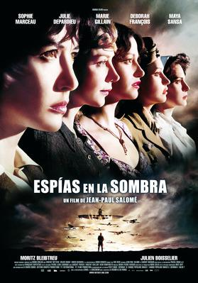 Female Agents - Poster Espagne