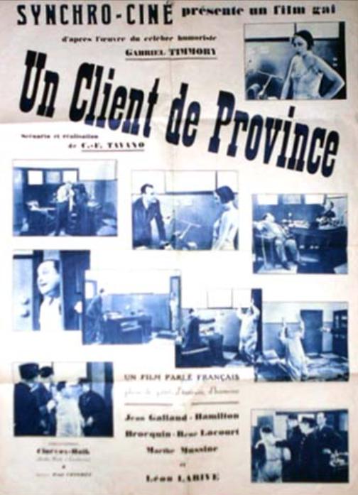 Un client de province