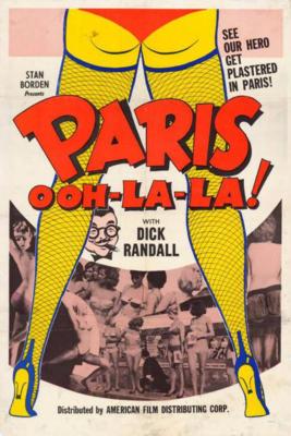 Vingt-quatre heures d'un Américain à Paris - Poster Etats-Unis