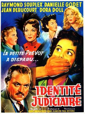 Identité judiciaire - Poster Belgique