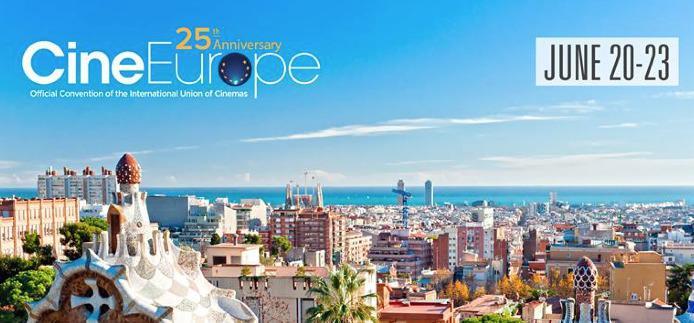 Le cinéma français à la 25e édition de CineEurope à Barcelone