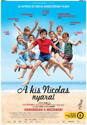 Les Vacances du petit Nicolas - Poster - Hungary