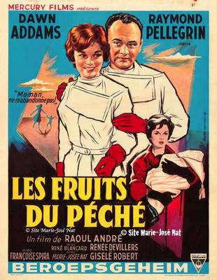 Secret professionnel (Les Fruits du péché) - Poster Belgique