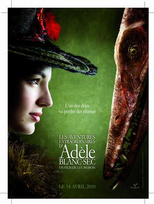 The Extraordinary Adventures of Adèle Blanc-Sec - Poster France - 2