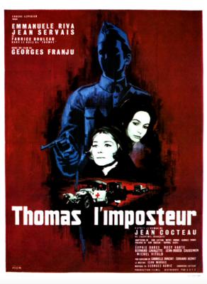 Thomas el Impostor - Poster France