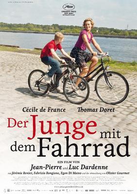 Le Gamin au vélo - Poster - Germany - © Alamode