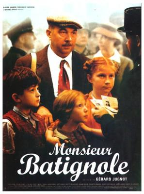Monsieur Batignole / バティニョールおじさん - Poster France