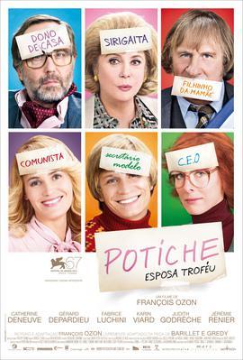 Potiche, mujeres al poder - Poster - Brésil