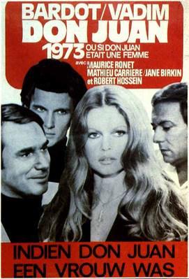 Don Juan 1973 ou Si Don Juan était une femme... - Poster - Belgium