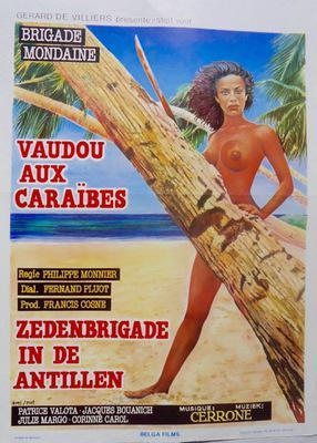 Brigade mondaine : Vaudou aux Caraïbes - Poster Belgique