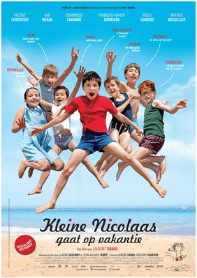 Les Vacances du petit Nicolas - Poster - The Netherlands