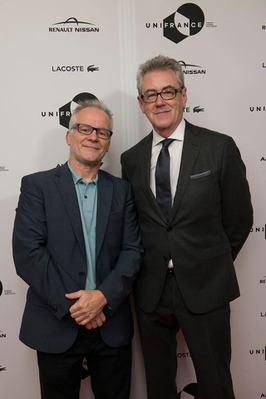 Toronto 2016: report on French films at the 41st edition - Thierry Frémaux, délégué général du Festival de Cannes, et Piers Handling - © UniFrance