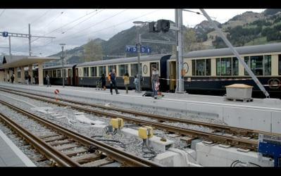 Voyage à Bessèges, des rails à la française