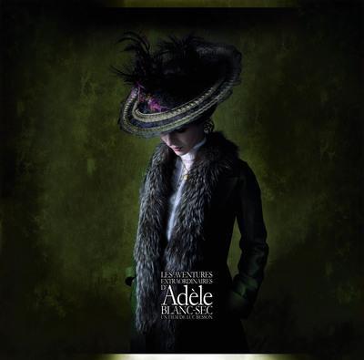 Adèle y el misterio de la momia - Poster France - 3