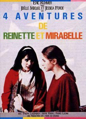Four Adventures of Reinette and Mirabelle - Poster France
