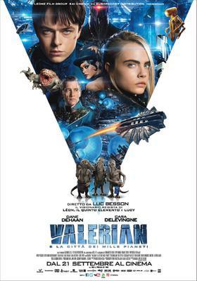 Valerian y la Ciudad de los Mil Planetas - Poster - Italian