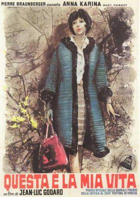 女と男のいる舗道 - Poster Italie