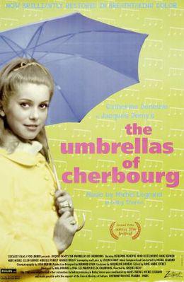 シェルブールの雨傘 - Affiche US