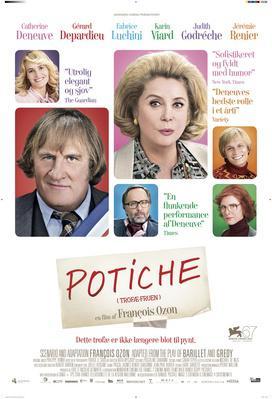 Potiche, mujeres al poder - Poster - Danemark