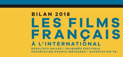 Bilan 2018 des films français à l'international - © UniFrance