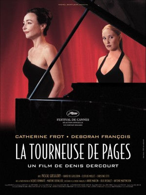 La Tourneuse de pages - Poster - France