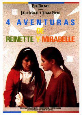 Four Adventures of Reinette and Mirabelle - Poster Espagne