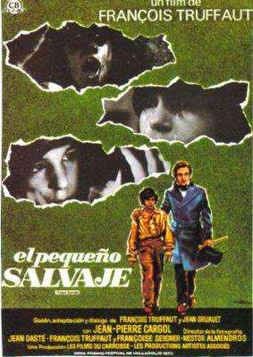 El Pequeño salvaje - Poster Espagne