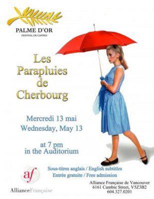 Les Parapluies de Cherbourg - Affiche canada