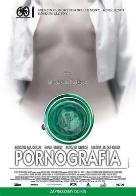 Pornography - Affiche Pologne