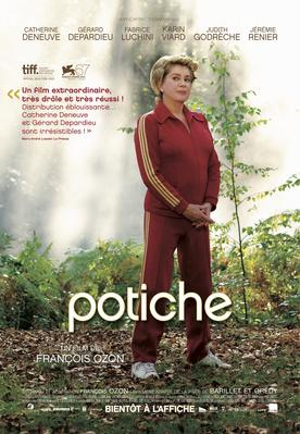 Potiche, mujeres al poder - Poster - Québec