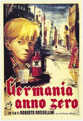 Alemania, año cero - Poster - Italy
