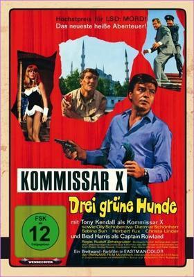 Comisario X y los tres perros verdes - Germany