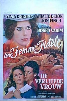 Une femme fidèle - Poster Belgique