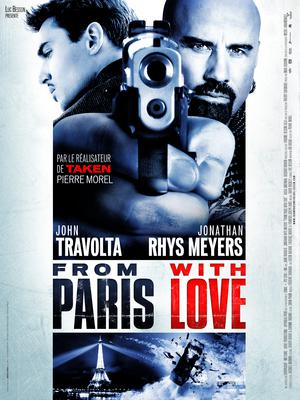 From Paris With Love - Poster - France