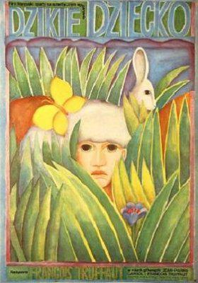 El Pequeño salvaje - Poster Pologne
