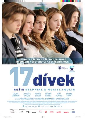17 Girls - Poster - The Czech Republic