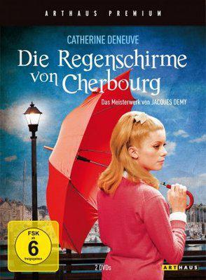 Les Parapluies de Cherbourg - Affiche Allemagne