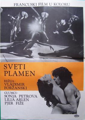 Feu sacré (Le) - Poster - Tschekoslovakia